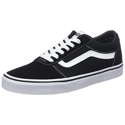 25a3022b5b9710 Vans Men s Ward Suede Canvas Low-Top Sneakers
