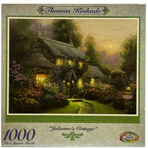 Thomas Kinkade 1000pc. Puzzle-Julianne's Cottage by Ceaco by Ceaco