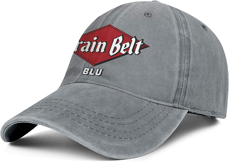 Cheap mail order shopping Mens Cowboy Cap Grain-Belt- Beer Adjustable Baseb - Soft Complete Free Shipping Vintage