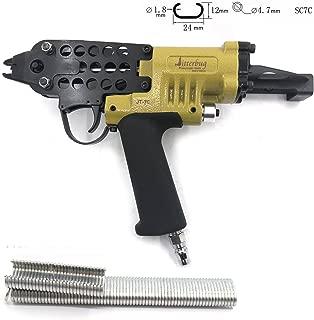 Jitterbug Pneumatic Air 15GA Gauge C-Ring Tool Hog Ring Plier Gun 3/4