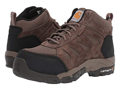 Carhartt Lightweight Waterproof Hiker Carbon Nano Comp Toe (Brown) Women