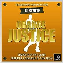 Fornite Battle Royale - Orange Justice Dance Emote