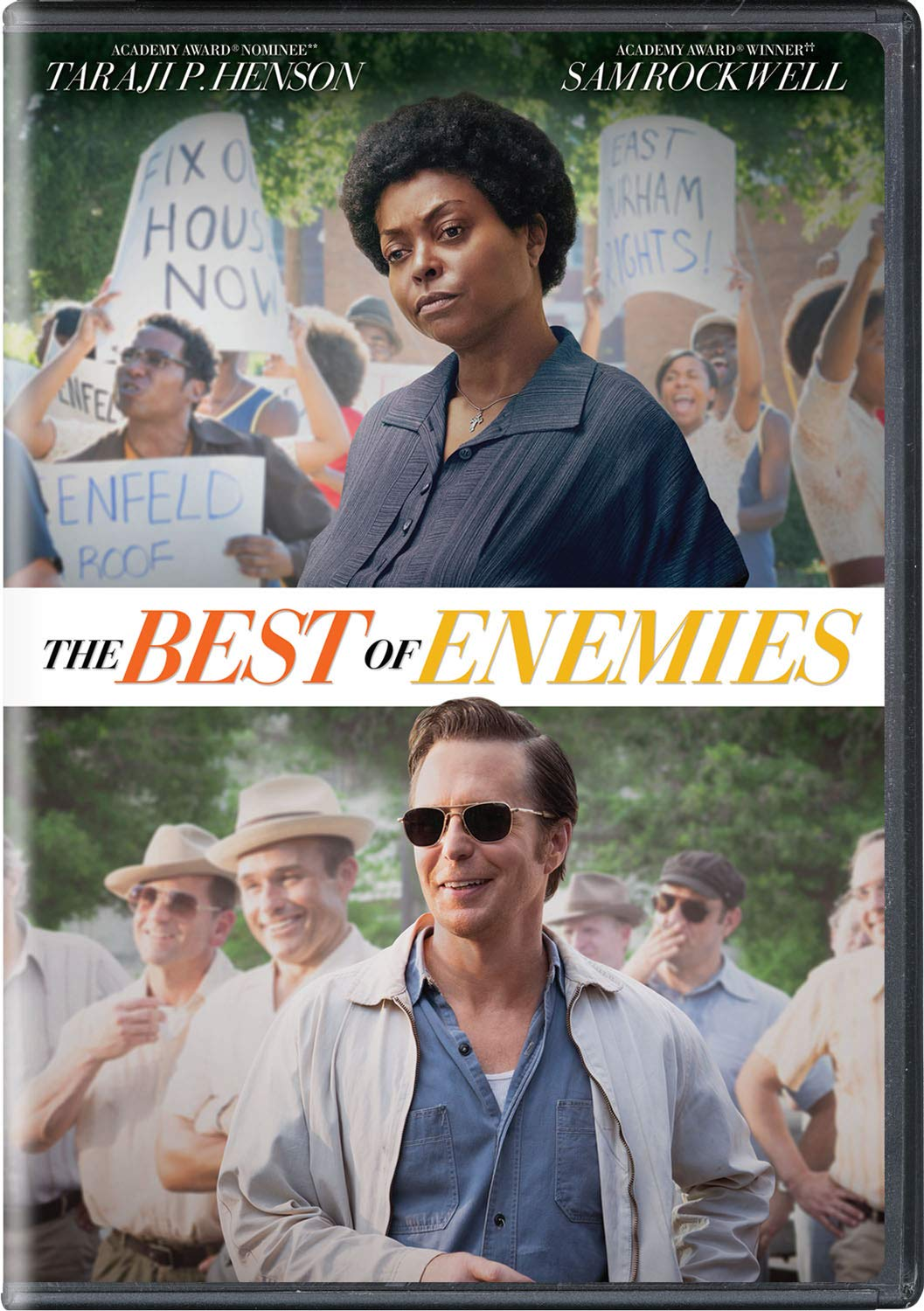 Amazon.com: The Best of Enemies [DVD] : Taraji P. Henson, Sam Rockwell,  Babou Ceesay, Anne Heche, Wes Bentley, Nick Searcy, Bruce McGill, Robin  Bissell, Danny Strong, Fred Bernstein, Matt Berenson, Robin Bissell,