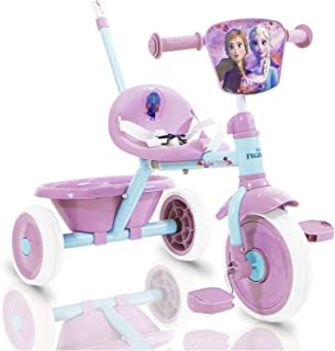 Spartan Disney Frozen Tricycle with Pushbar