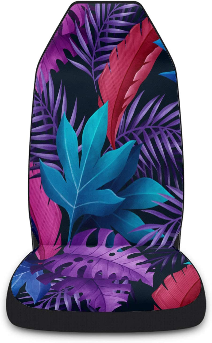 Cloud Dream Baltimore Mall Home Ranking TOP1 Car Seat Covers Tropical Plant Leaves Fr Summer