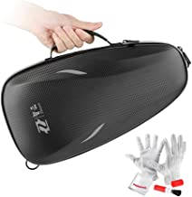 Zhiyun Black Fox Zip Case Storage Bag with Shoulder Strap for Zhiyun Evolution Smooth C Smooth II Gimbals - Including Pergear Cleaning Kit