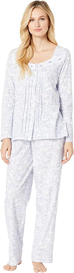 Soft Jersey Long Pajama Set
