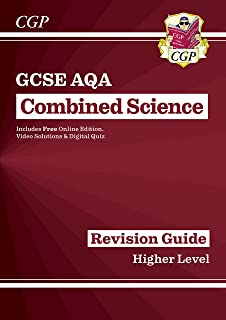 New GCSE Combined Science AQA Revision Guide - Higher includes Online Edition, Videos & Quizzes
