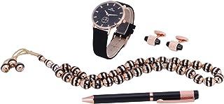 طقم ساعة للرجال من ماركو بولو مع ازرار اكمام وقلم