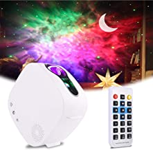 Sky Projector LED Night Light, ALED LIGHT 3in1 LED Moon Nebula Cloud Rotating Star Light Galaxy Projector with RF Remote C...