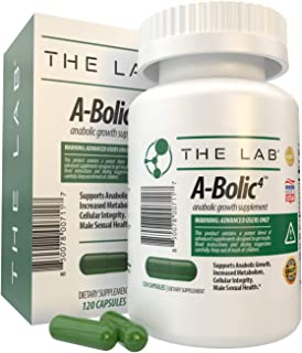 A-Bolic4 Advanced Anabolic Boost Supplement | Support Powerful Anabolic Growth and Testosterone with Turkesterone, Apigeni...