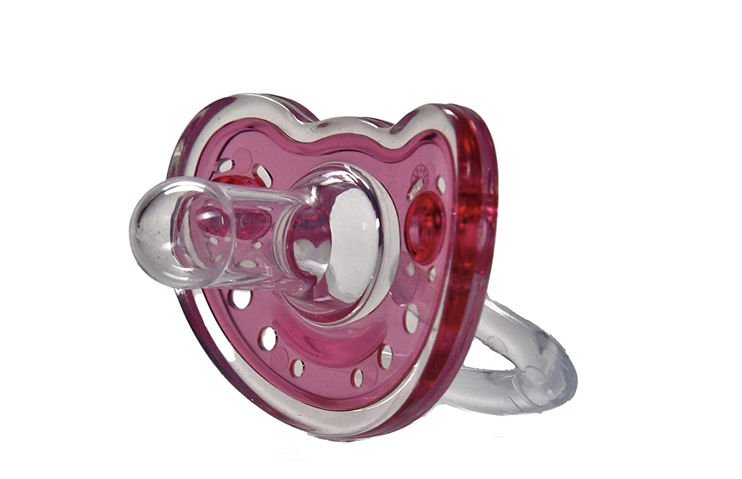 Sweetie Silicone Detroit Mall Pacifier Refuser Soother 2 Pink Overseas parallel import regular item Count