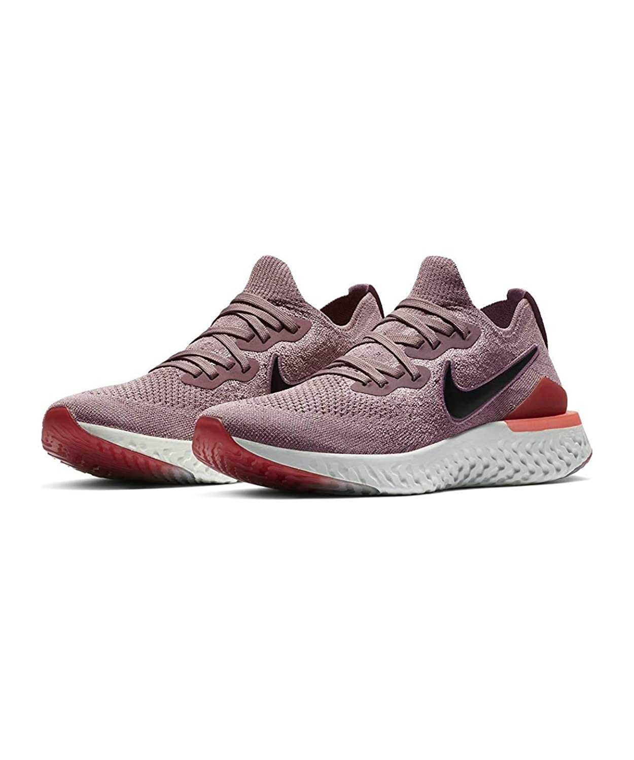 Nike W Epic React Flyknit 2 [BQ8927-500] Women Running Shoes Plum Dust/Black/US 9.0