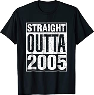 Straight Outta 2005 - 13th Year Old Birthday Gift Idea Shirt