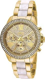 Women's Angel Quartz Watch with Stainless Steel Strap,...