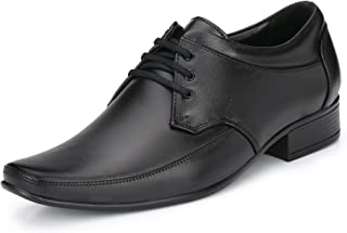 Knoos Mens Genuine Leather Formal Laced-UP Shoes A4-8709