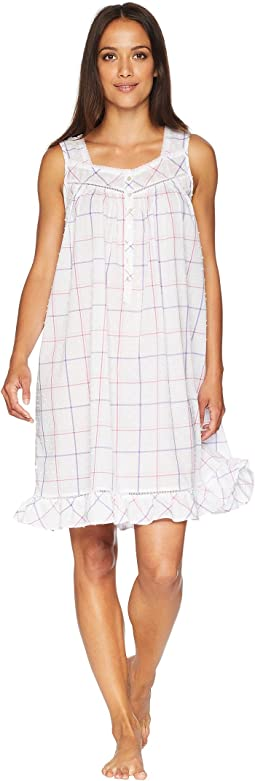 Swiss Dot Short Chemise