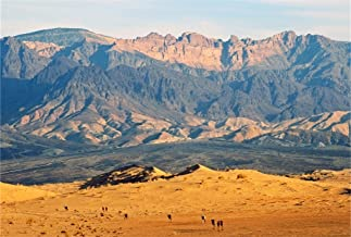 AOFOTO 7x5ft Desert and Mountain Landscape Backdrop for Photography Outdoor Nature Scenery Background Adventure Tour Photo Studio Props Man Lovers Adult Girl Boy Artistic Portrait Wallpaper