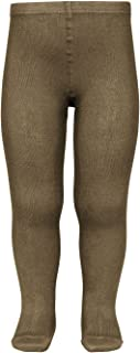 Condor 儿童连裤袜 朴素连裤袜(全65色) 绿色・黄色系 Moss(モス) 8(7歳~8歳)