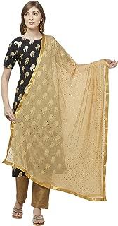 Woman's Embellished Chiffon Dupatta.
