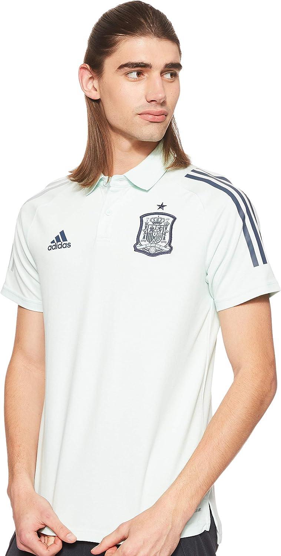 excepción Contradecir R  Amazon.com : adidas 2020-2021 Spain Training Polo Football Soccer T-Shirt  Jersey (Green) : Clothing