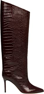 ALEXANDRE VAUTHIER Luxury Fashion Womens ALEX90BOOTCHOCOLATE Brown Boots | Fall Winter 19
