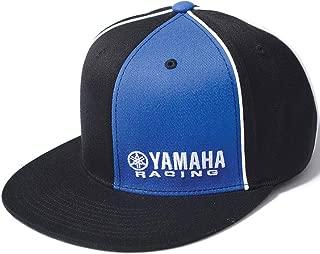 Factory Effex 12-88076 'Yamaha Racing' Flex-Fit Hat (Black/Blue, Large/X-Large)