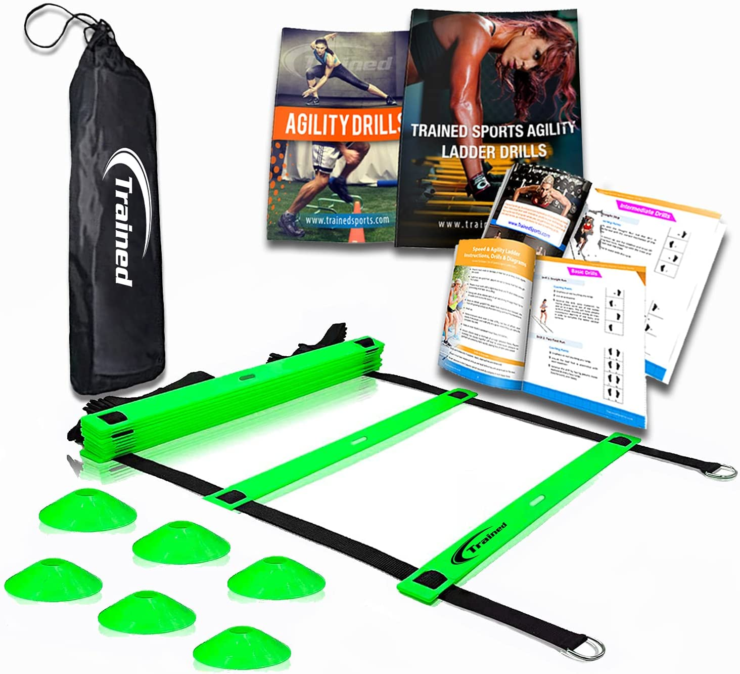 Trained Agility Ladder Bundle 6 Branded goods Cones e Drills Tucson Mall Sports 2