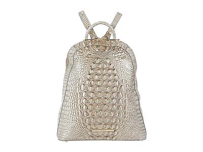 Brahmin Melbourne Large Rosemary Backpack (Sterling) Backpack Bags