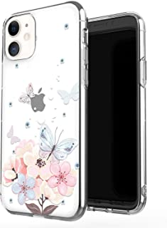 JAHOLAN iPhone 11 Case Clear Cute Design Flexible Bumper TPU Soft Rubber Silicone Cover Phone Case for iPhone 11 / XI 6.1