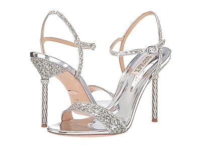 Badgley Mischka Olympia (Silver) High Heels