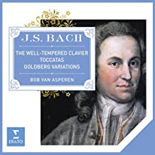 Bach: The Well-Tempered Clavier, Goldberg Variations & Toccatas