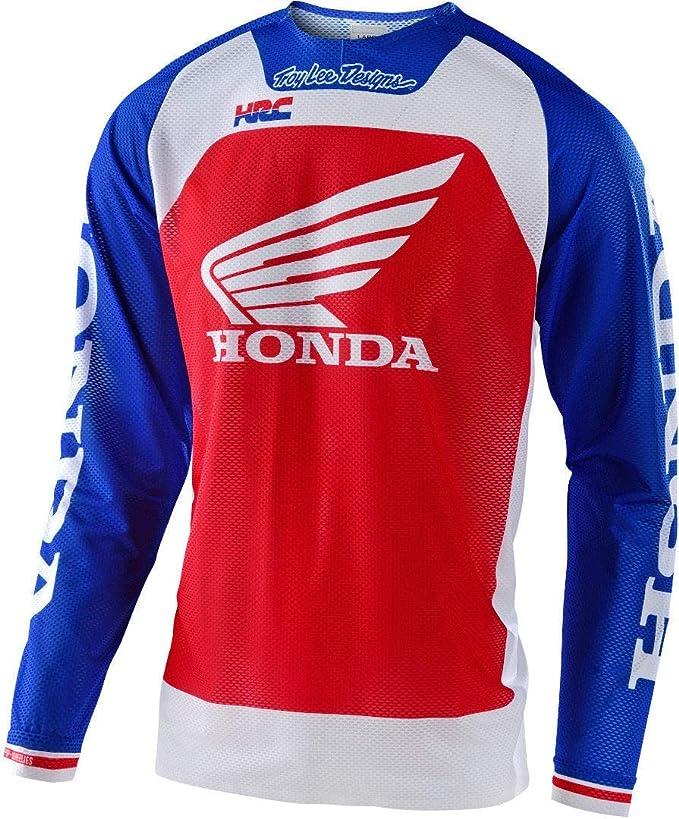 Troy Lee diseña la Camiseta Oficial de Motocross HRC Honda SE Pro Air Boldor Team