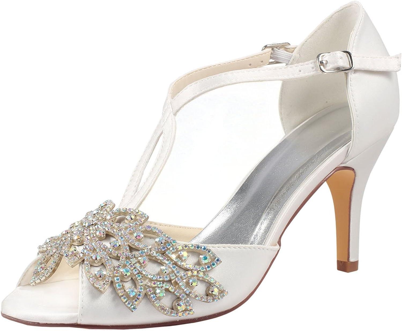 Emily Bridal Silk Wedding Shoes Ivory