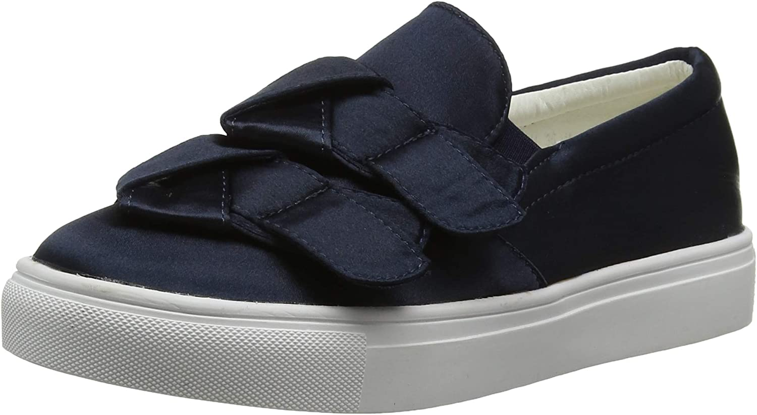 Lost Ink Women's Hally Side Bow Slip on (Wide Fit) Trainers
