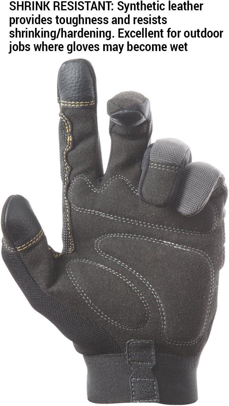CLC Custom Leathercraft 125M Handyman Flex Grip Work Gloves, Shrink Resistant, Improved Dexterity, Tough, Stretchable, Excellent Grip : Everything Else