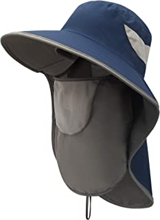 Hat With Neck Flap For Men Fishing Hats For Women Sun Protection Bucket Hat With Neck Flap Sun Blocking Hats For Men