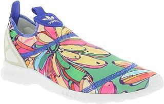 adidas Originals Women's Zx Flux Adv Smooth Slip On Trainers Lab US8 Blue