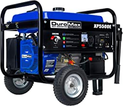 DuroMax XP5500E 5,500-Watt Gas Powered Portable Generator