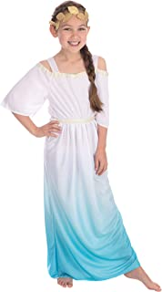 Bristol CC932 Novelty Roman Goddess Costume, 134 - 146 cm (Size L), Multicolored
