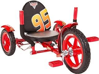 Mobo Mity Lightning McQueen Toddler 3 Wheel Ride On Trike. Disney Pixar Cars, Red