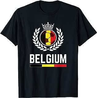 Belgium Soccer Jersey 2019 Belgian Football Team Fan Shirt