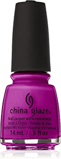 China Glaze Electric Nights Lacquer, Violet Vibes, 0.5 Fluid Ounce