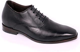 Max Denegri Zapato Formal Elegant Negro 7cms De Altura