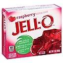 JELL-O Raspberry Gelatin Dessert Mix (3 oz Box)