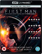 First Man (4K UHD + Blu-ray + Digital Download) (2-Disc Set) (Slipcase Packaging + Region Free) (Fully Packaged Import)