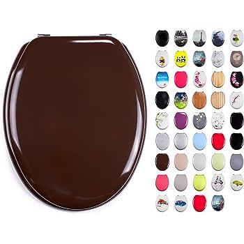 Fissaggio in Acciaio Inossidabile WENKO 19652100 ASSE WC Cubicle Multicolore 45 x 38 cm Materiale Plastico