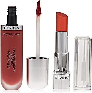 Revlon Ultra HD Matte Lip Color Kisses Promo Pack, Hibiscus