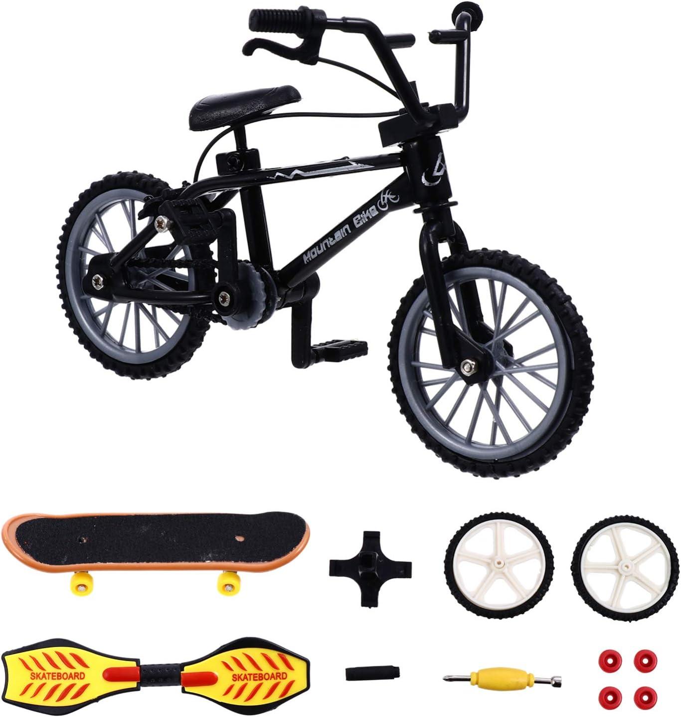 NUOBESTY Mini Finger Sports Set Fingert Complete Free Shipping Skateboards Bikes New arrival