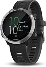 """Garmin 010-01863-00 Forerunner 645, GPS Running Watch with Pay Contactless Payments and Wrist-Based Heart Rate, Black, 1.2"""""""